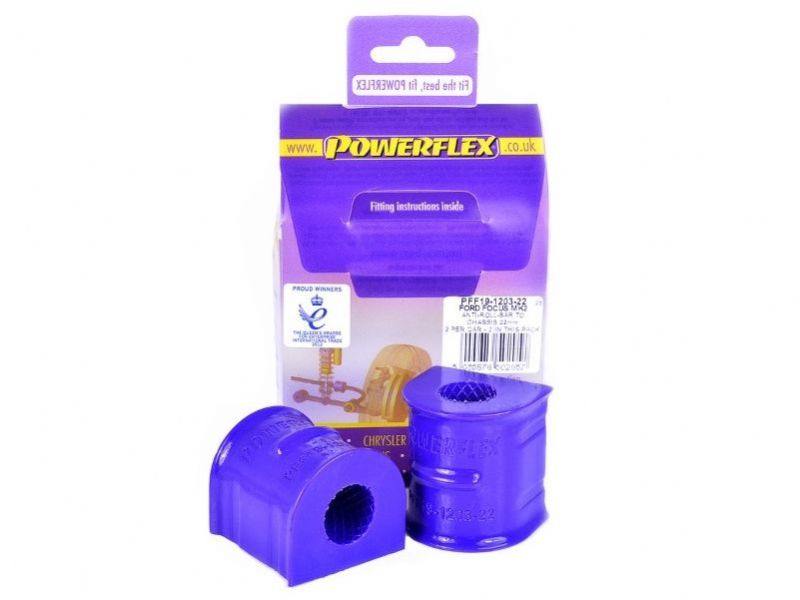 Focus ST225 Powerflex Front Anti Roll Bar Bush 22mm Pair PFF19-1203-22